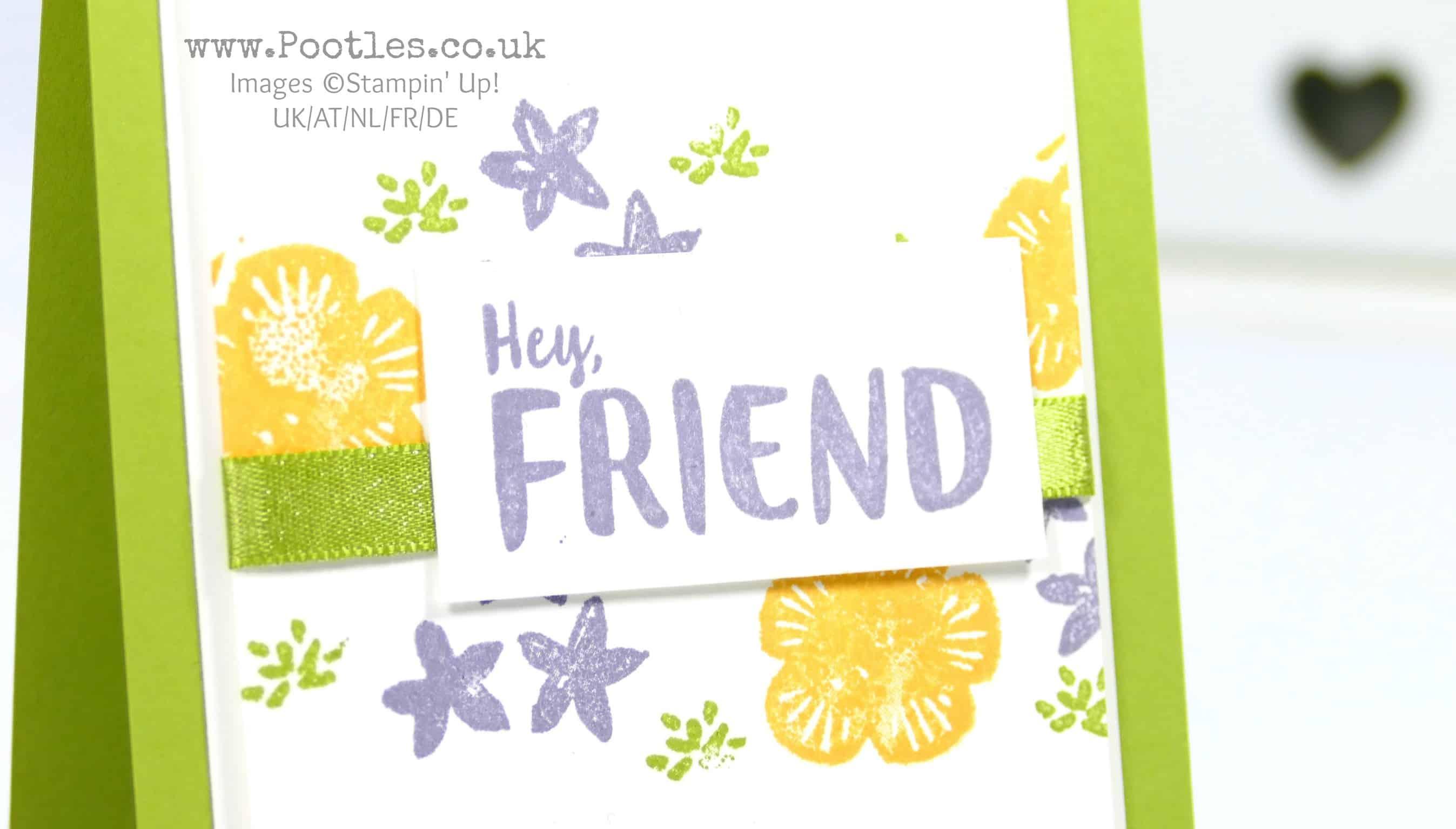 Hey Friend, Orange Blossom Subtles