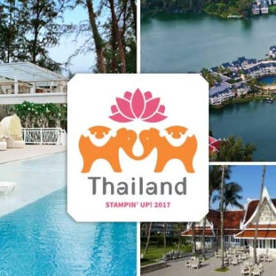 Stampin' Up! Thailand Incentive Trip Swaps Part 3