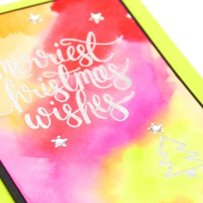 Colour Your World Blog Hop August – Watercolour Christmas + Clearance Rack Update