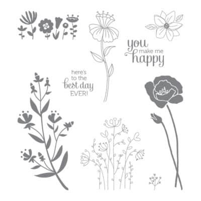 Pootlers Design Team – Flirty Flowers Week 1