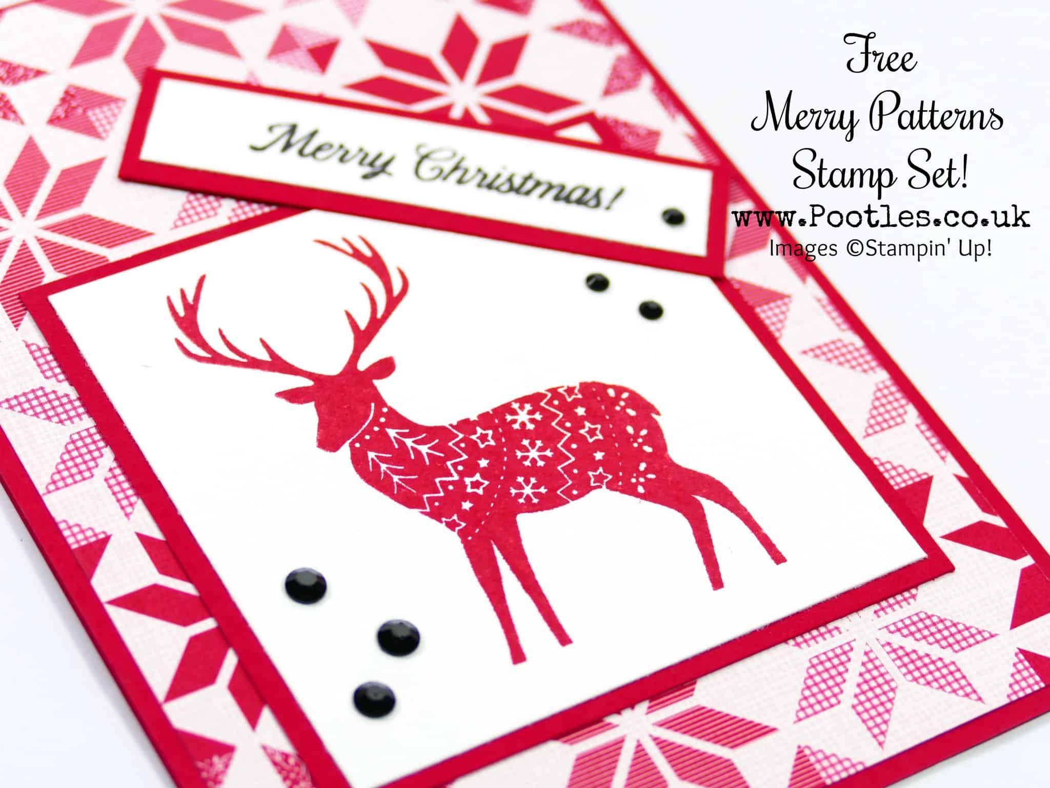 Merry Patterns Nordic Reindeer