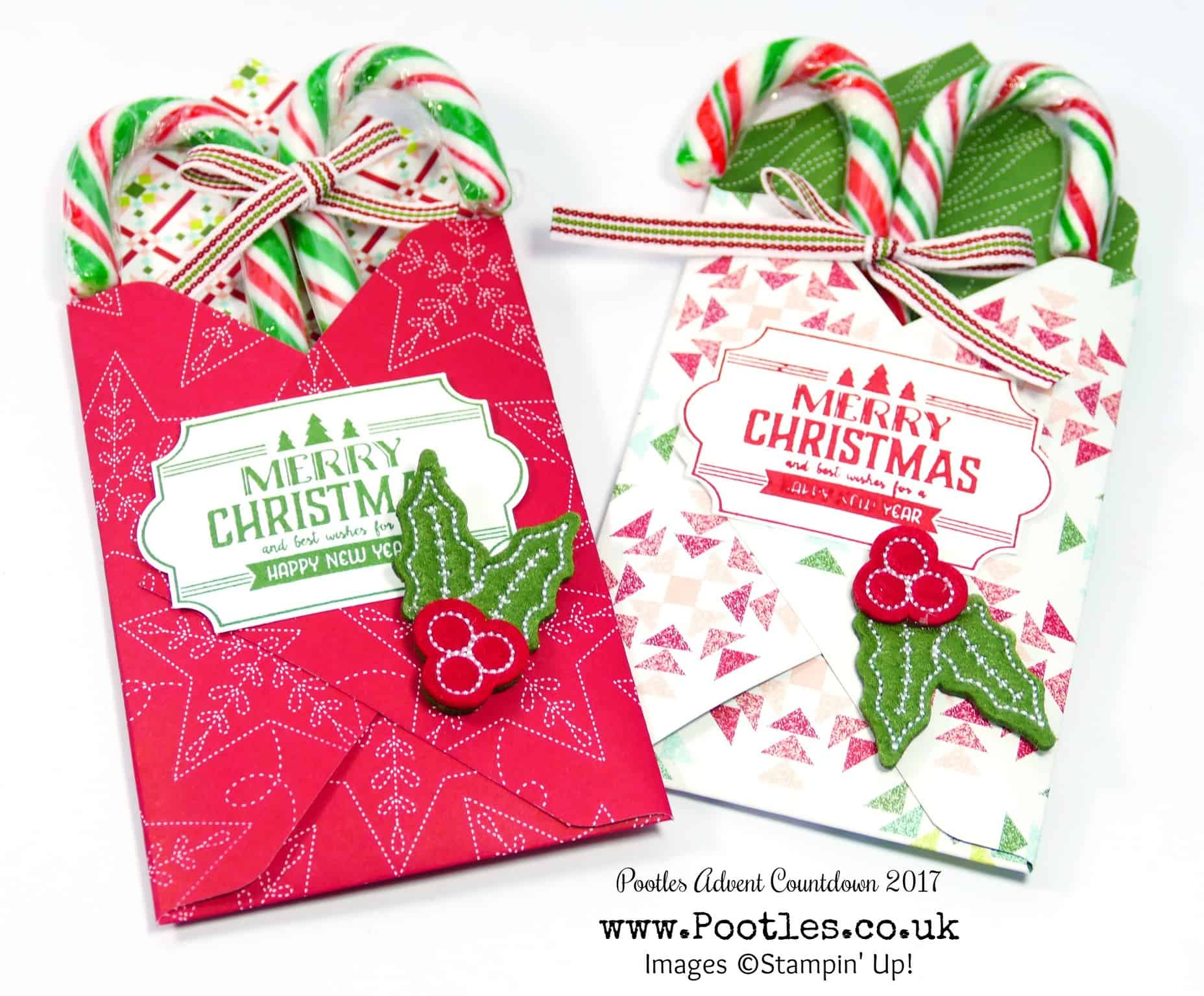 Pootles Advent Countdown 2017 #13 Candy Cane Customer Gift Treats