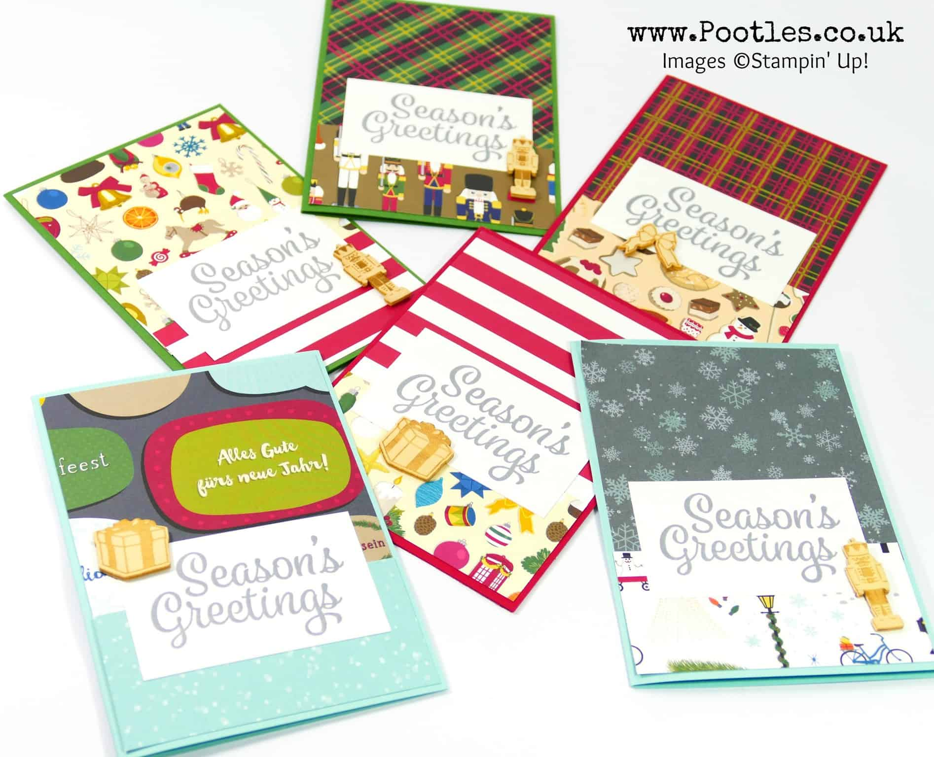 Christmas Around the World Customer Thank You Cards