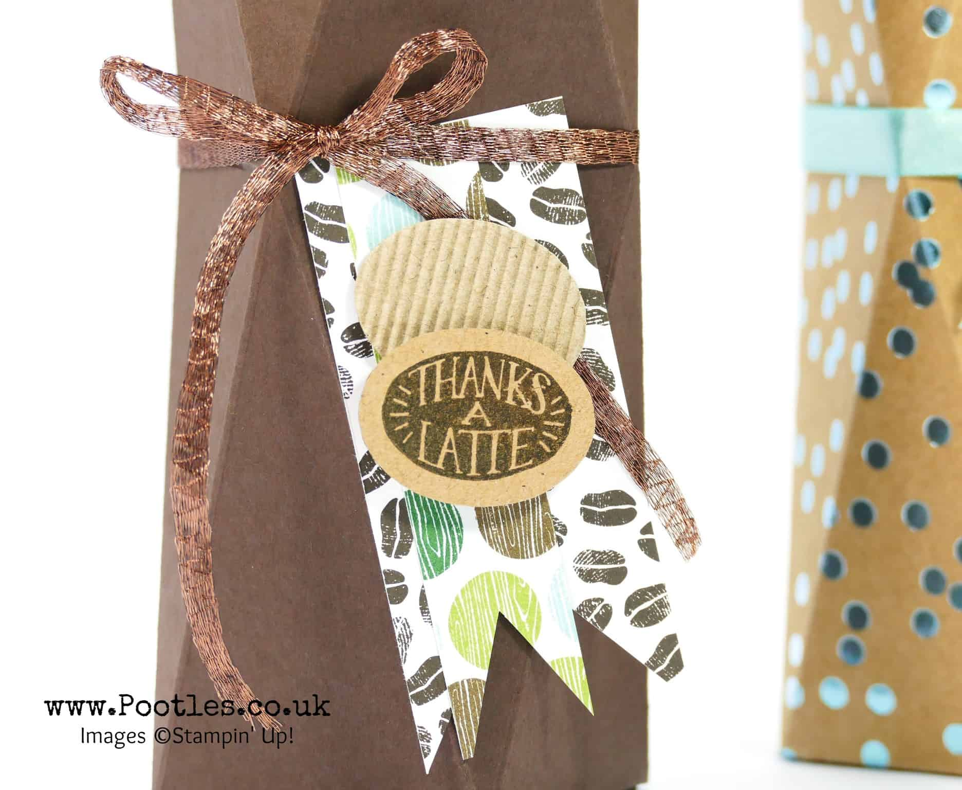 Double Faceted Easy Box Tutorial using Stampin' Up! Supplies