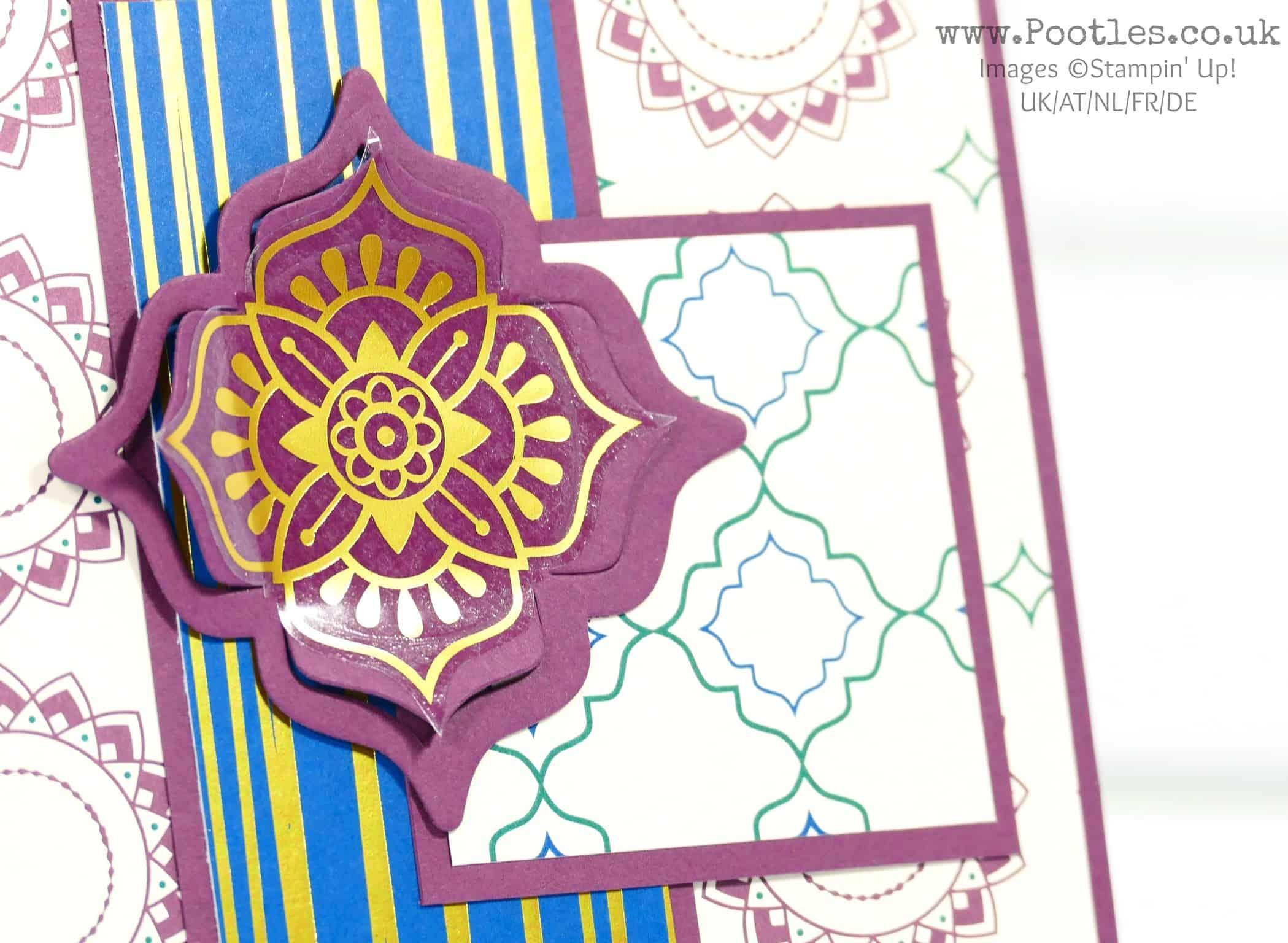 Eastern Beauty Simple Card Idea
