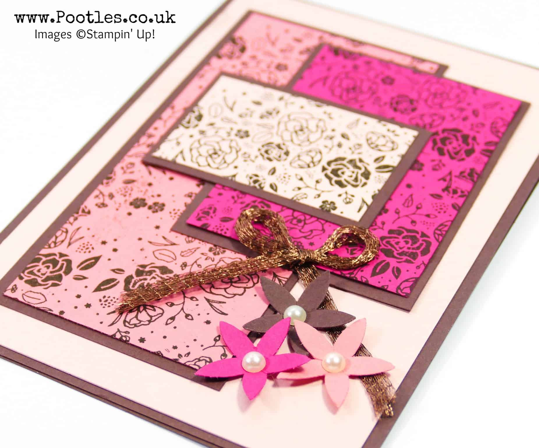 Wood Words Pinked and Floral!