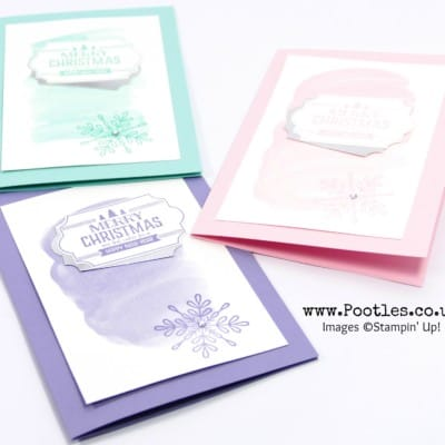 Merry Little Labels for Customer Thank You Cards