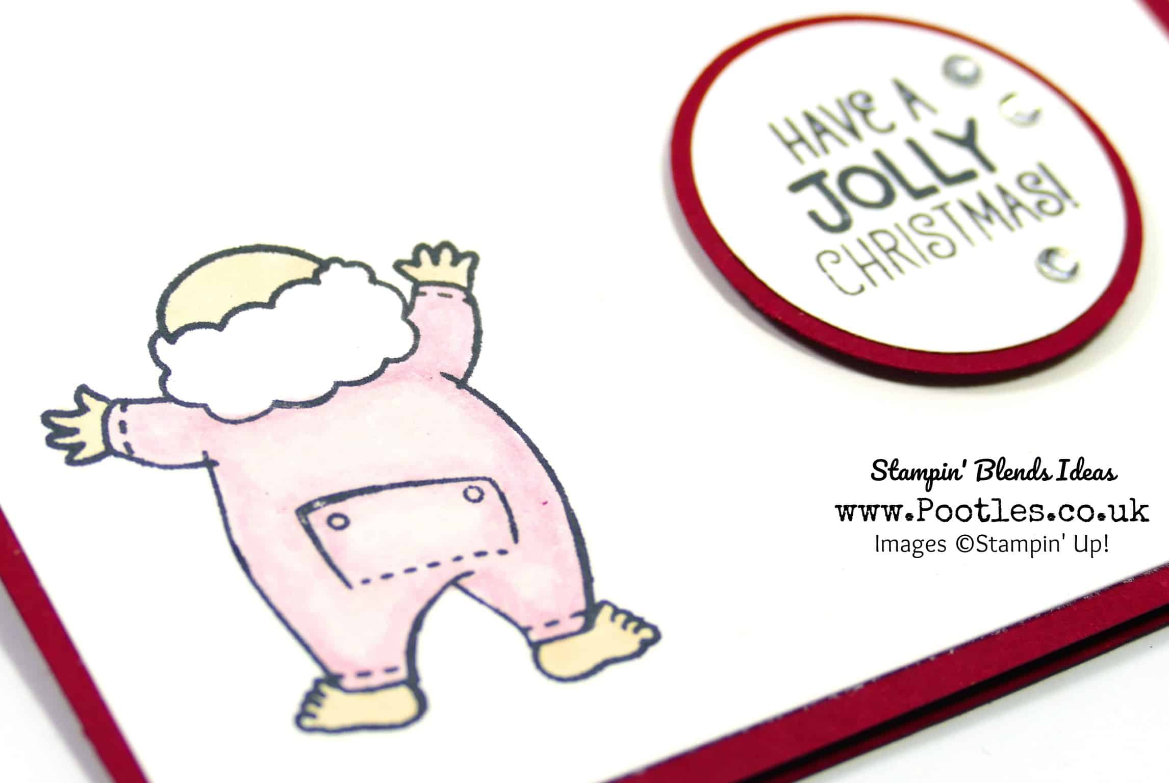 Santa's Suit, Blends and Pink Long-Johns!