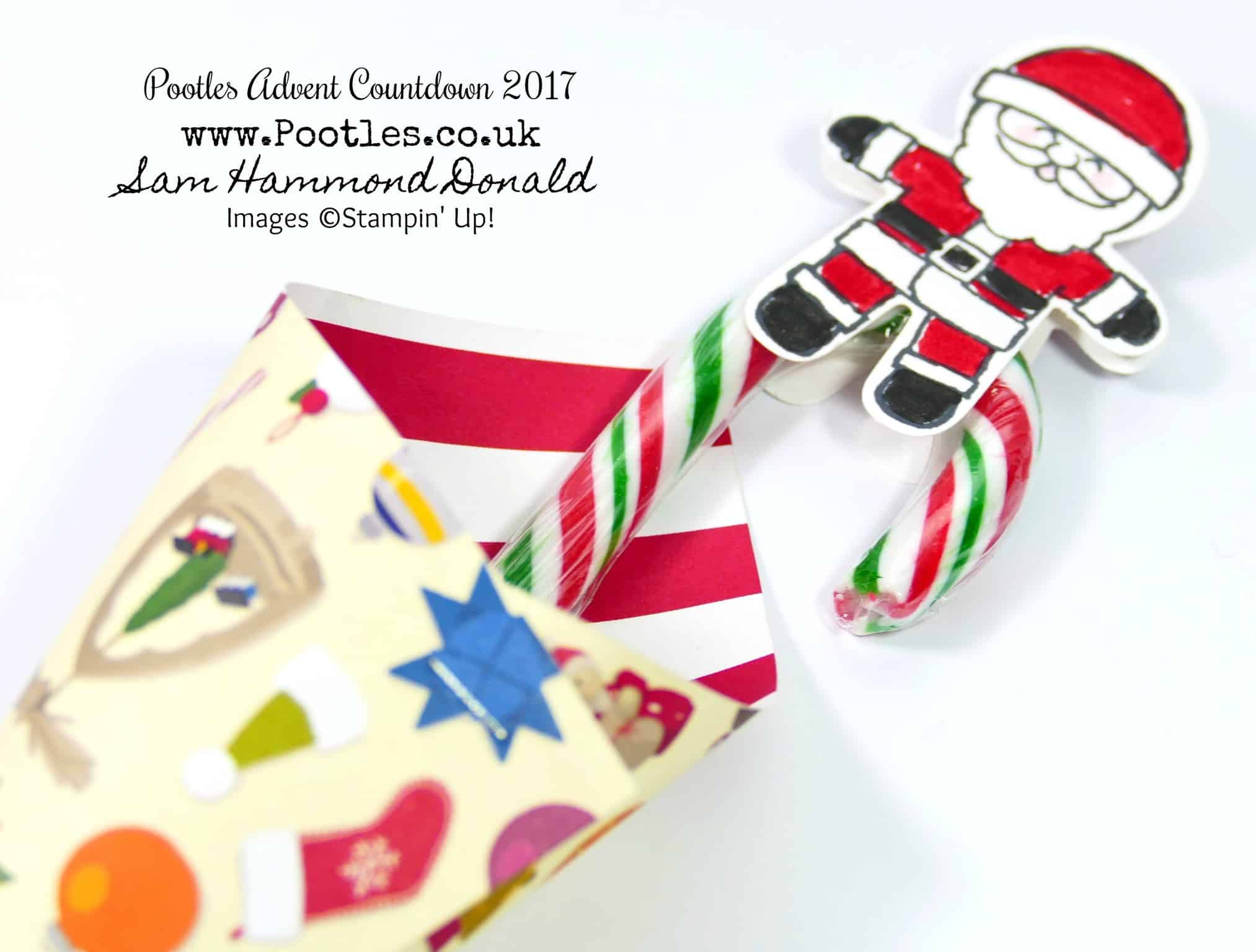 Pootles Advent Countdown 2017 #23 Oliver's Candy Cane Pop Up Gift