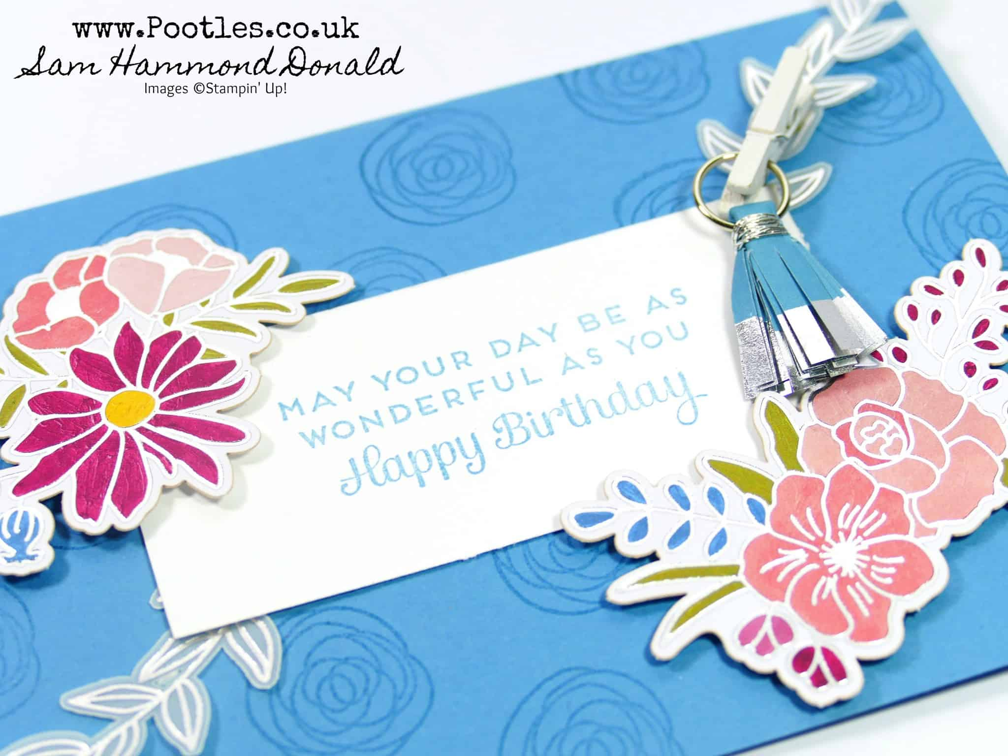 Super Quick Sweet Soiree Embellishment Kit Card!