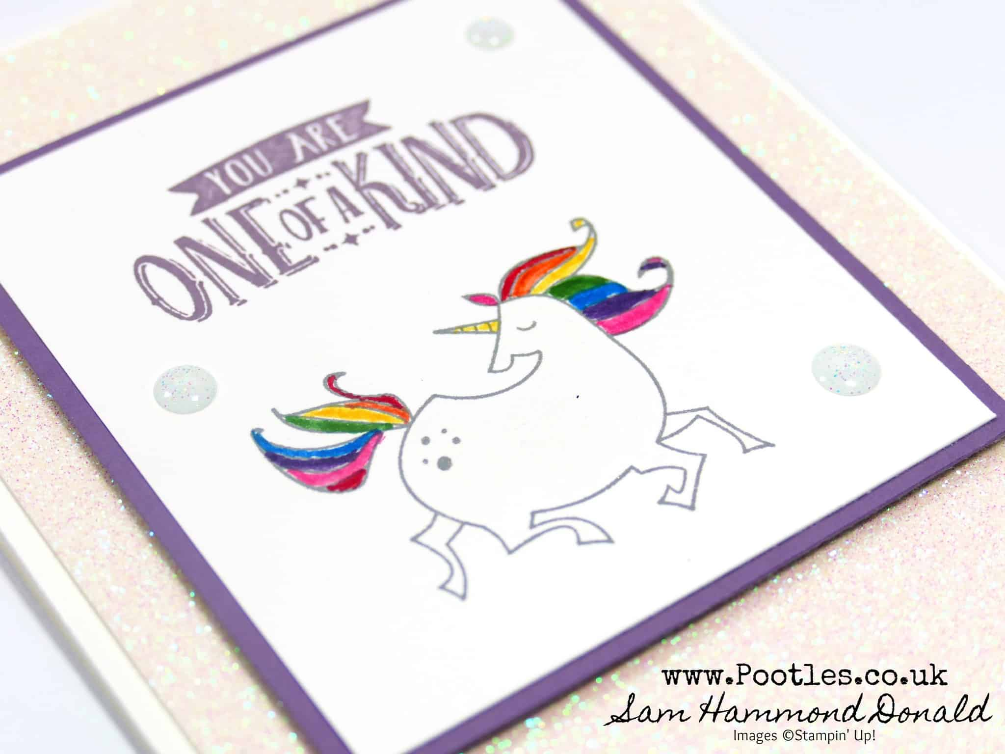 Myths & Magic, Sparkly Rainbow Unicorn!