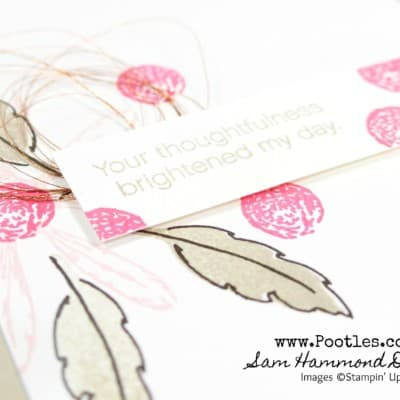 Daisy Delight – Browns and Copper and Pinks!