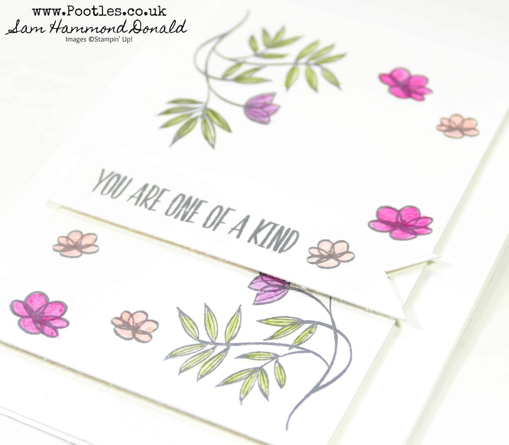 Delicate Floral Card with Lovely Wishes