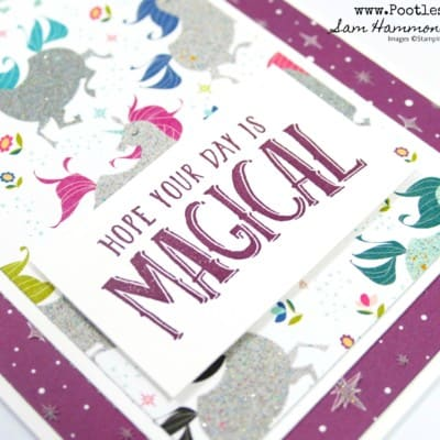 Myths & Magic Magical Day Card with Glittery Bits!