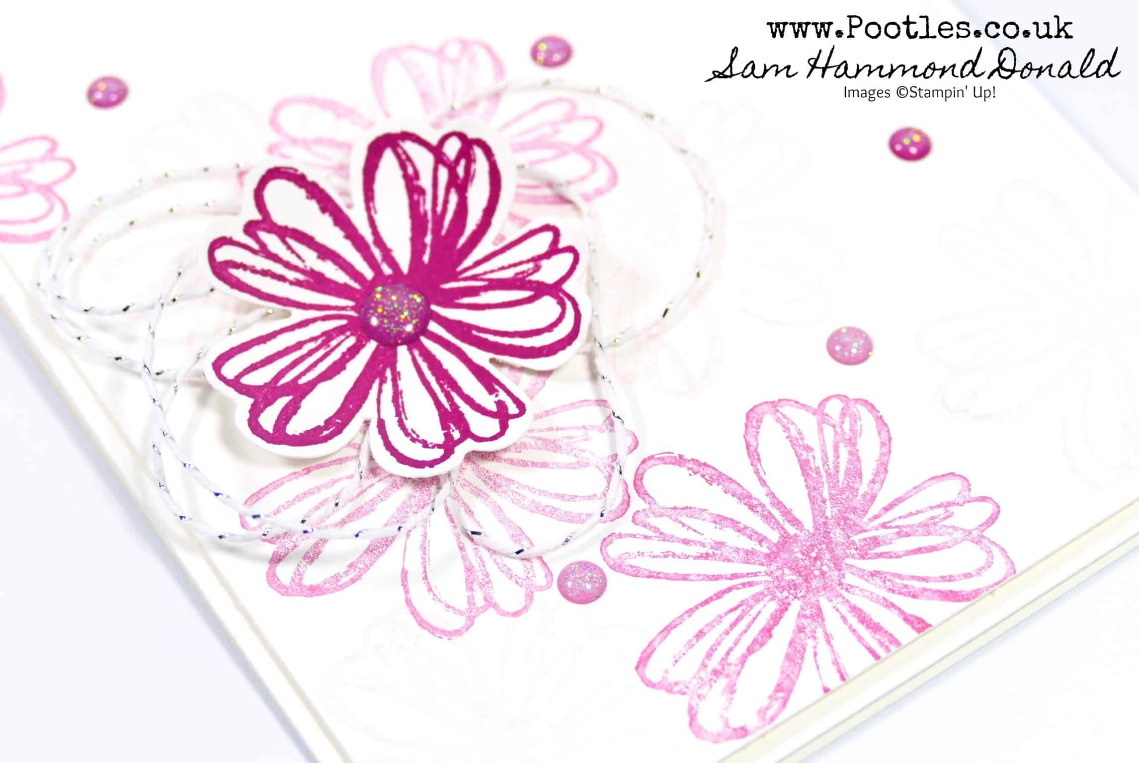 Pansy Punch and Flower Shop and Glitter Enamel Dots