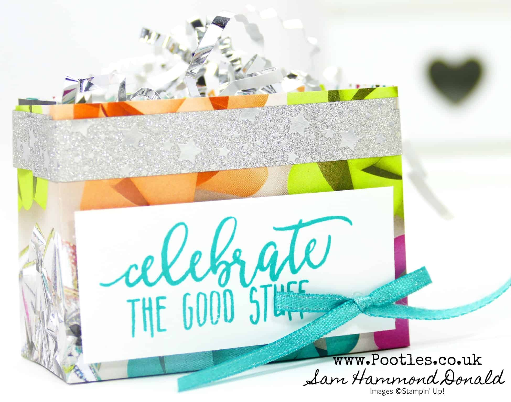 Picture Perfect by Stampin' Up! Mini Treat Bag Tutorial