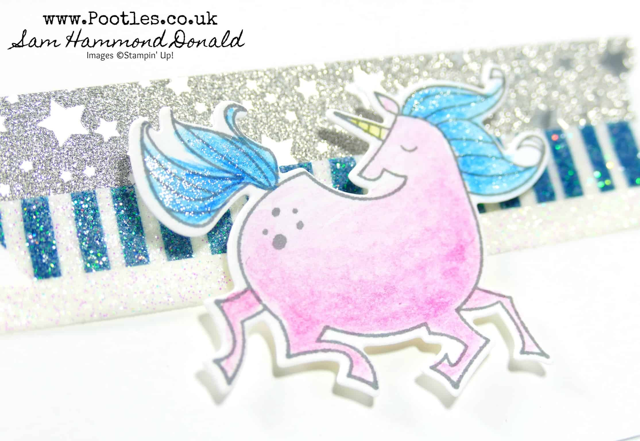 Pootlers Team Blog Hop Mini Magical Day Watercoloured Bundle