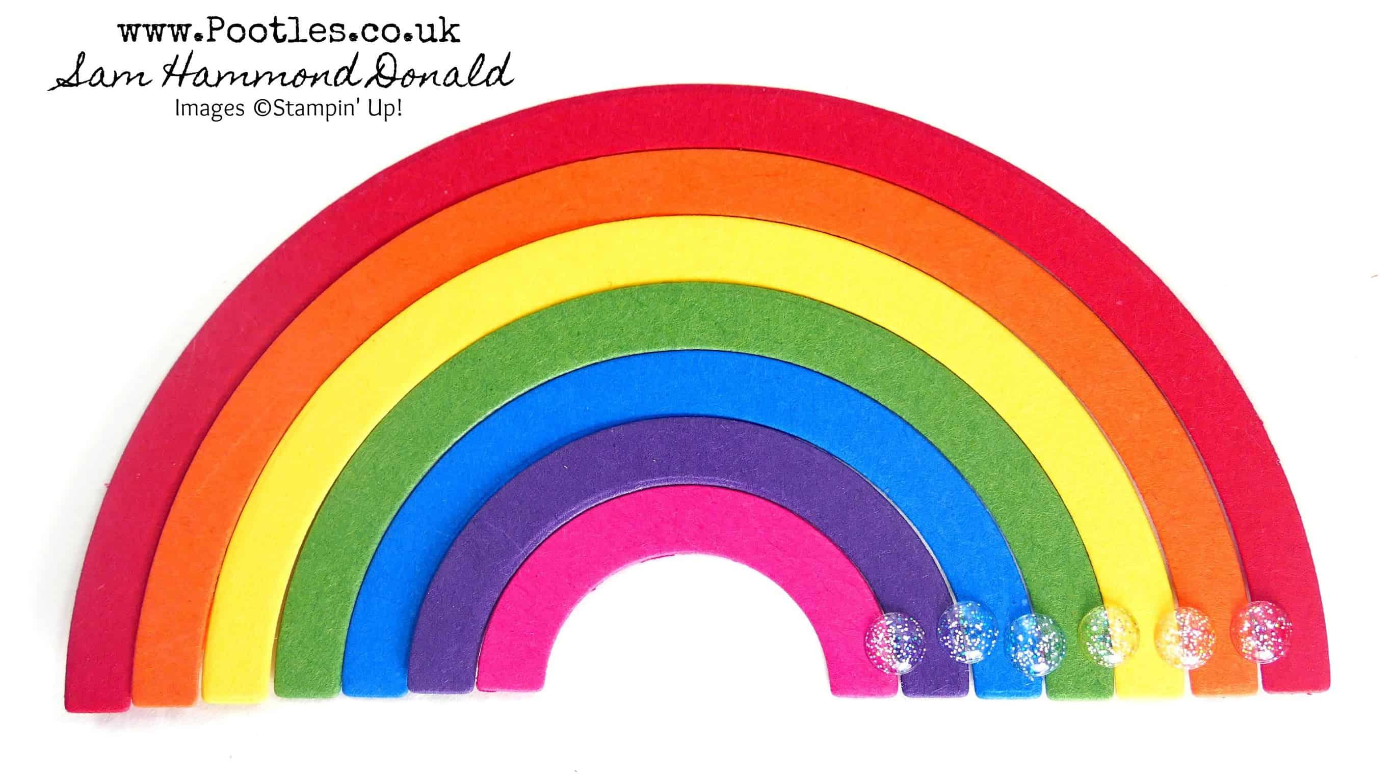 Stampin' Up! Rainbow Builder Dies Top Tips x 2 !
