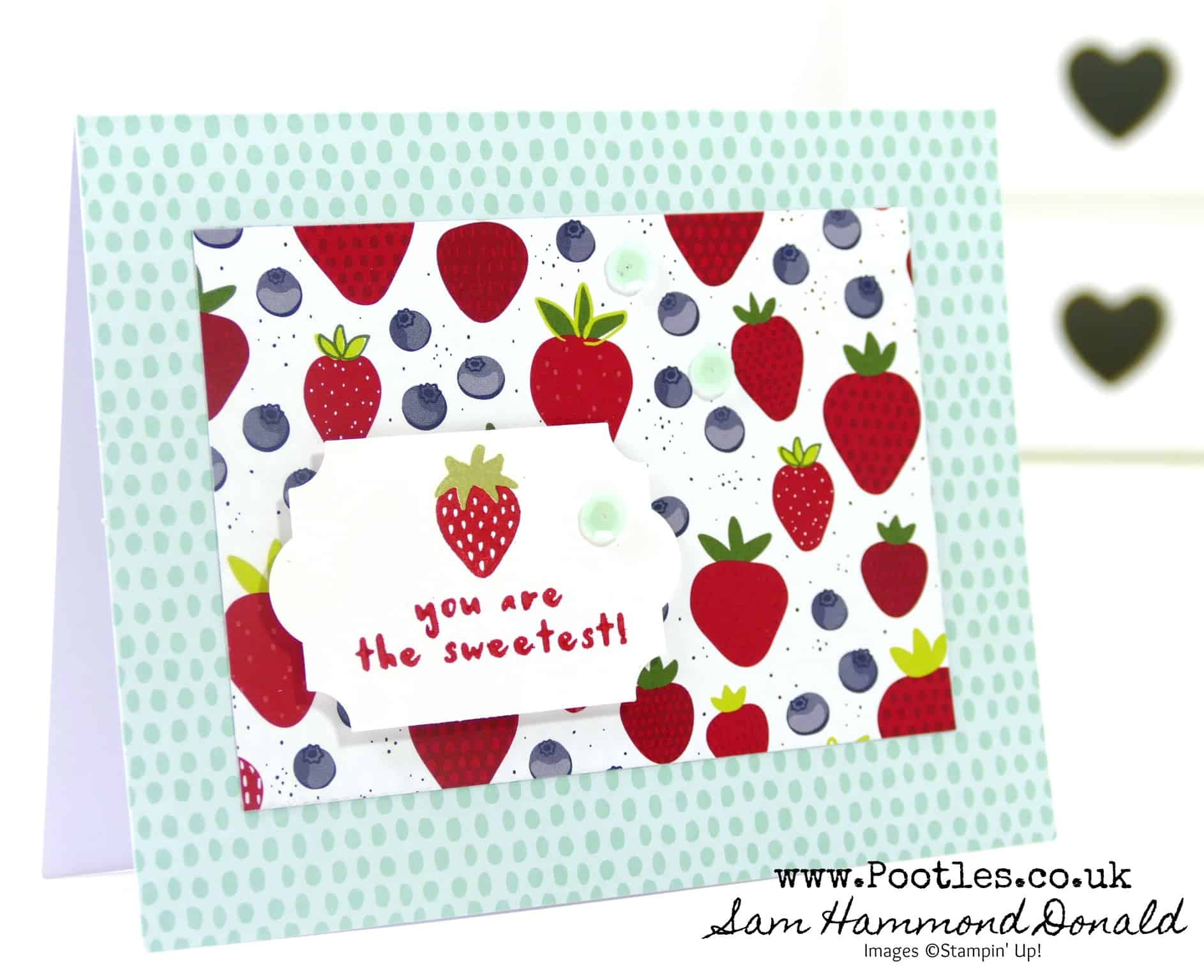 Tutti Frutti Sale a Bration Thank You Cards for Customers
