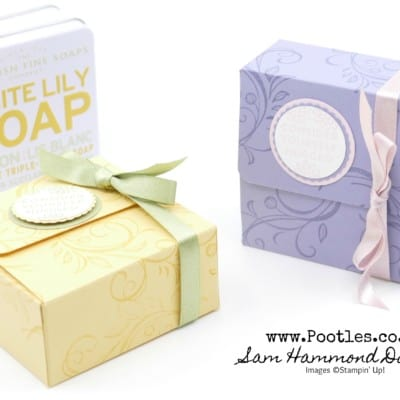 How to make a box for Soaps or Mini Cards