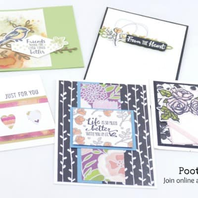 Pootlers Team Swaps – Card Ideas!