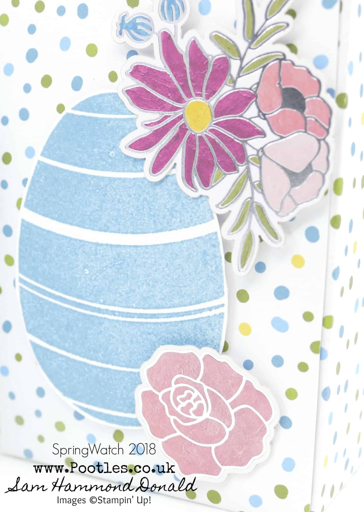 SpringWatch 2018 Happy Easter Yankee Candle Egg Punch Board Box Tutorial