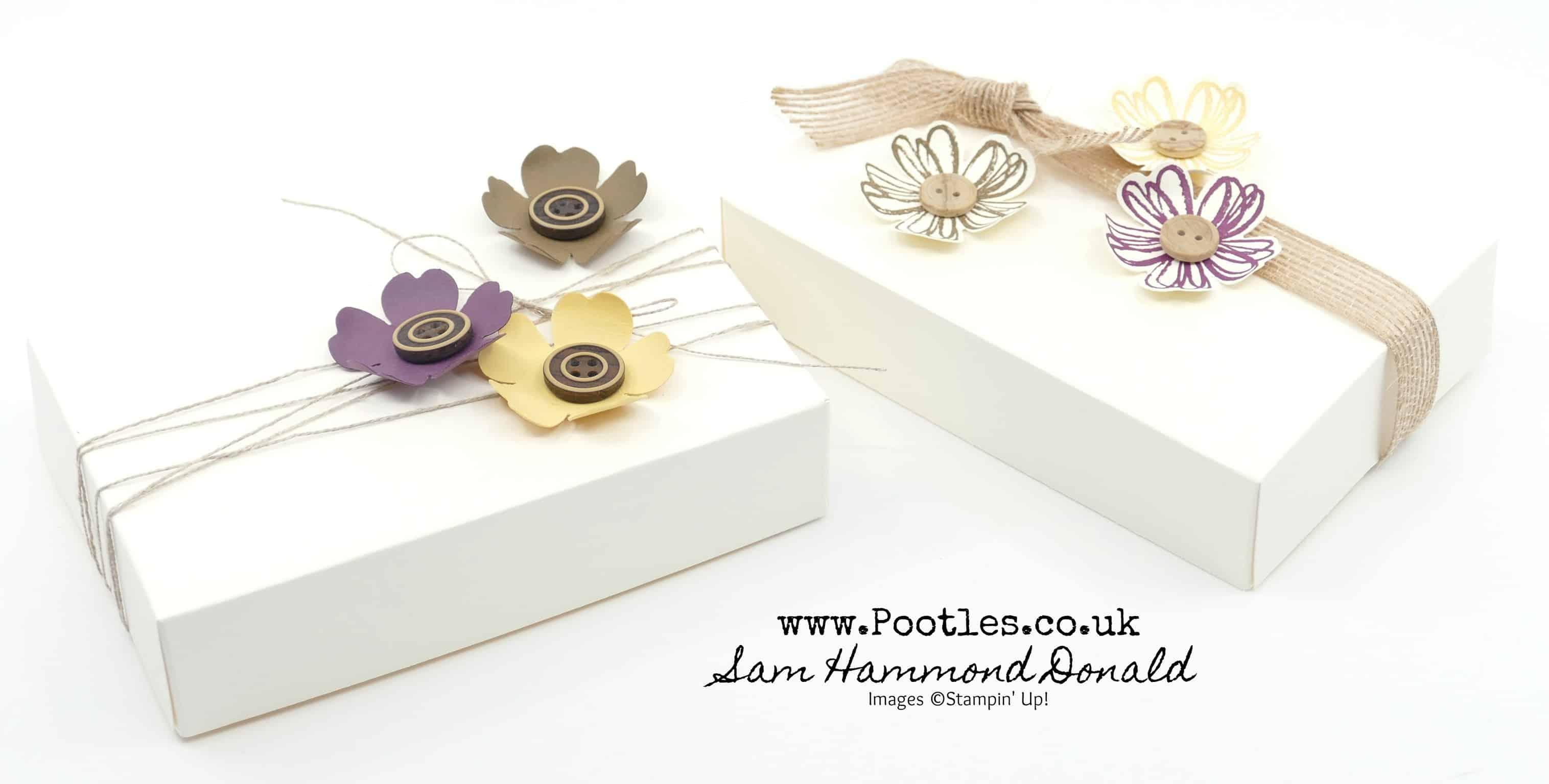 Flower Shop Pansy Punch Vanilla Box
