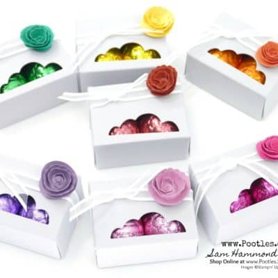 John Lewis Chocolate Egg Box and Rose Tutorial