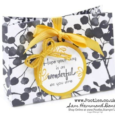 A Mother's Flair with Petal Passion by Stampin' Up! – 3 Bags from 1 Sheet of DSP