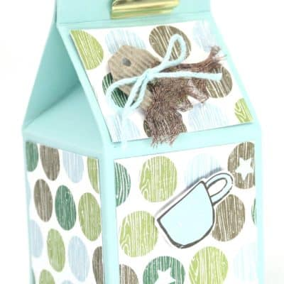 Adorable Coffee Break Milk Carton Tutorial