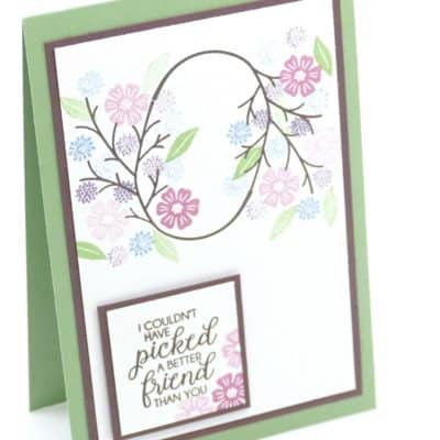 Beautiful Bouquet Repetitive Stamping Team Training