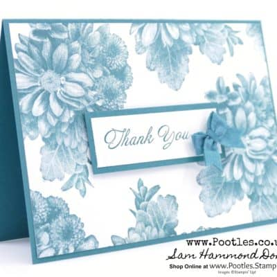Free Stampin' Up! Sale a Bration Heartfelt Blooms in Tranquil Tide