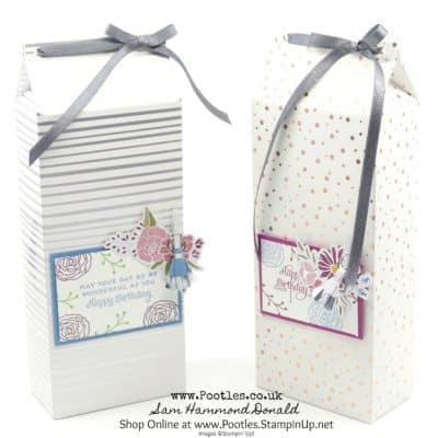 Gorgeous Tall Springtime Foils and Sweet Soiree Box Tutorial