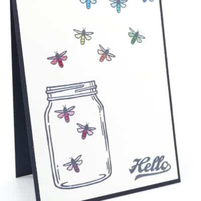 A Rainbow Jar of Dragonfly Love