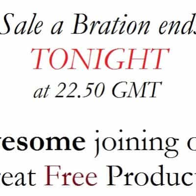 Sale a Bration Showcase – Joining Offer Paper and Punch Party