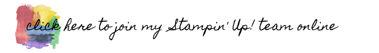 Join my Stampin' Up! team online