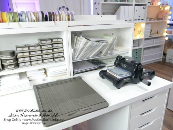 1 Stampin Up Demonstrator Pootles 1 000th Video Craft Room Tour