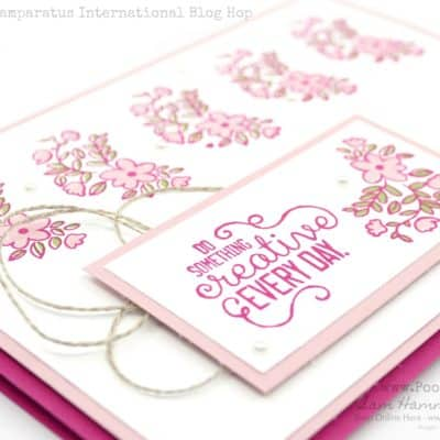 Official Stampin' Up! Stamparatus Blog Hop