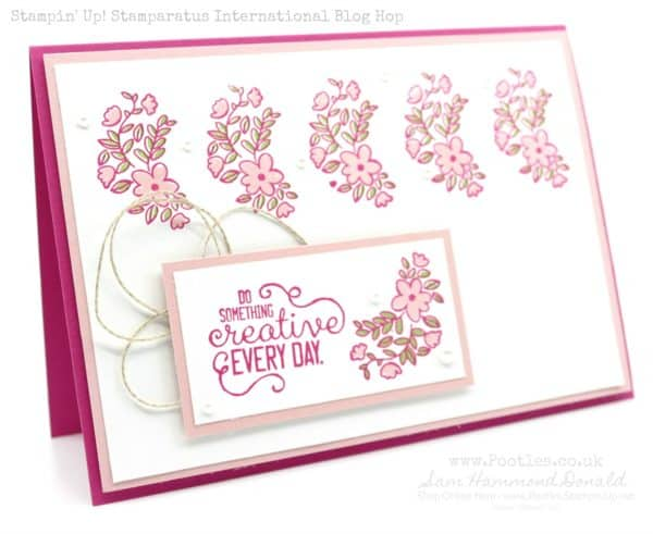 1 stampin' up! Demonstrator pootles – stamparatus hinge step.