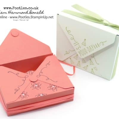 Around The Corner Envelope Punch Board Box
