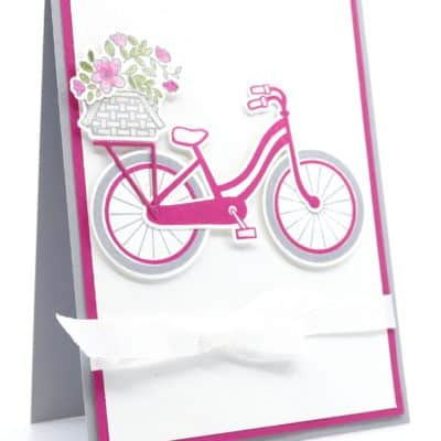 Elegant Sparkly Bike Ride by Stampin' Up!