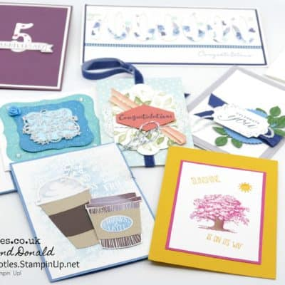 Stampin' Up! Pootlers Team Cards to me!
