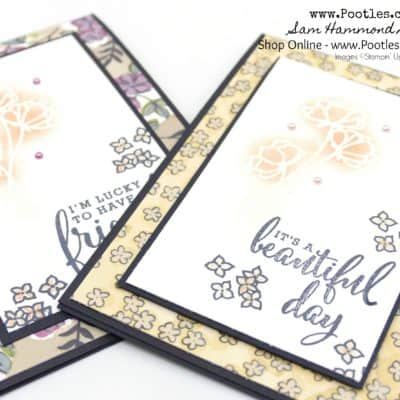 Stampin' Up! Share What You Love Bundle and Card with Emboss Resist