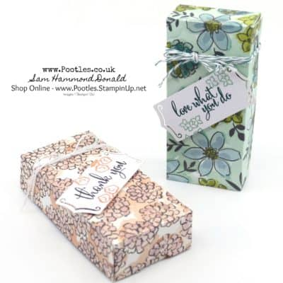 Stampin' Up! Share What You Love Fold Over Box