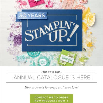 Who wants a copy of the New Stampin' Up! Annual Catalogue?