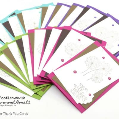 Dandelion Wishes Customer Thank You Cards