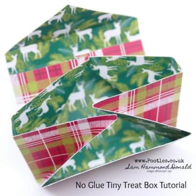 Shirley's No Glue Green & Blacks Gift Box