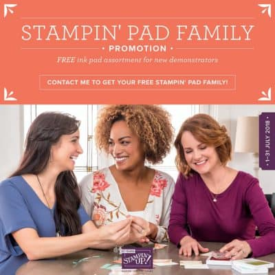 Joining Offer from Stampin' Up! and we are 2 weeks in….