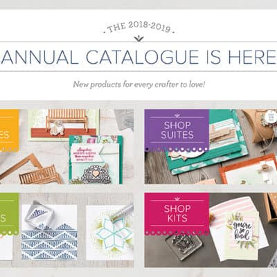 The New Stampin' Up! Annual Catalogue is LIVE!!