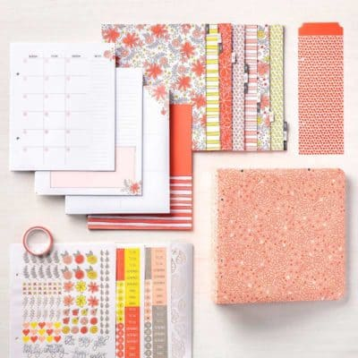 Stampin' Up! Big Plans Planner Kit and Memories & More